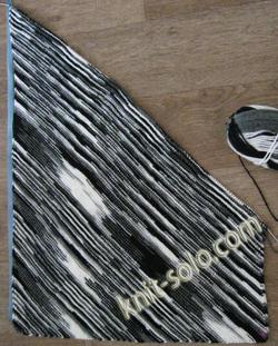 Юбка спицами. Мастер-класс. Пошаговое фото с описанием - knit-solo.com