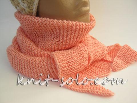 Бактус спицами - knit-solo.com