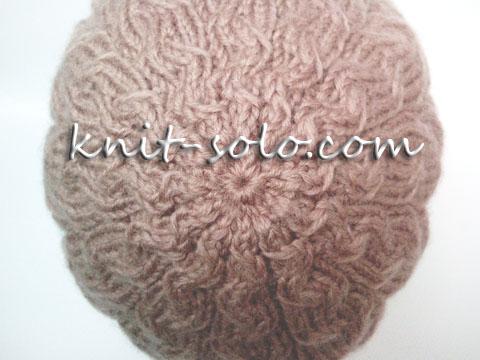Макушка вязаной шапки - knit-solo.com